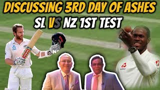 Discussing 3rd Day of Ashes & Sri Lanka vs New Zealand 1st test   Caught Behind