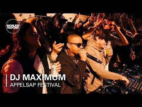 DJ Maximum | Boiler Room x Appelsap 2018 - UCGBpxWJr9FNOcFYA5GkKrMg