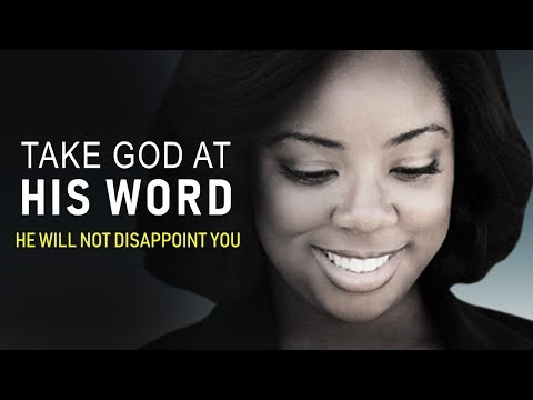 TAKE GOD AT HIS WORD (He will not disappoint you)  MORNING PRAYER  PASTOR SEAN PINDER