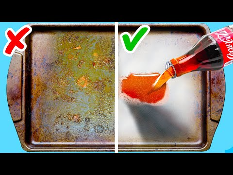 40 AWESOME CLEANING HACKS WITH THINGS FROM YOUR KITCHEN
