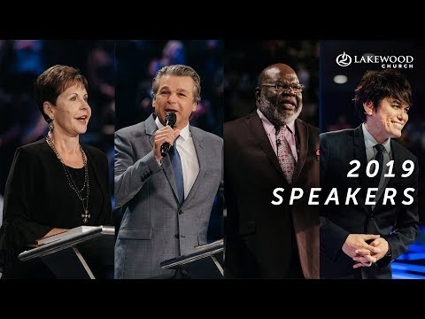 Coming to Lakewood Church in 2019