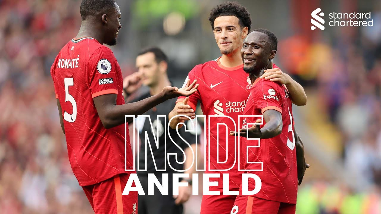 Inside Anfield: Liverpool 3-0 Crystal Palace   Best view of the Reds' win