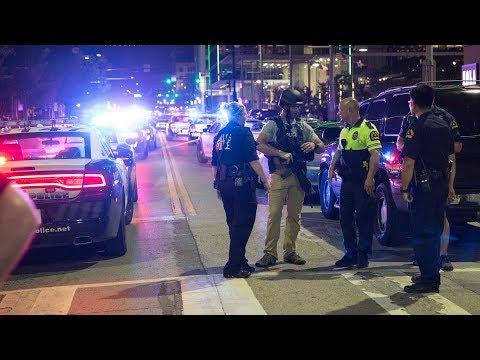 Nghi can bị bắt trong vụ nổ súng làm 2 cảnh sát viên Dallas bị thương