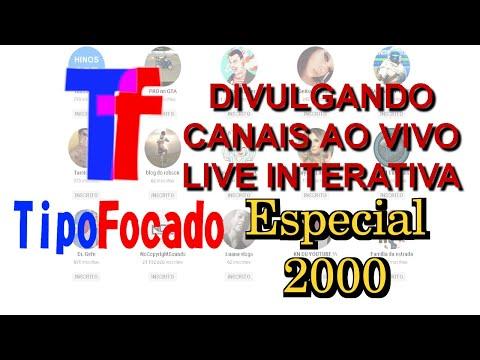 DIVULGANDO CANAIS #81 TRANSMISSÃO INTERATIVA | AO VIVO