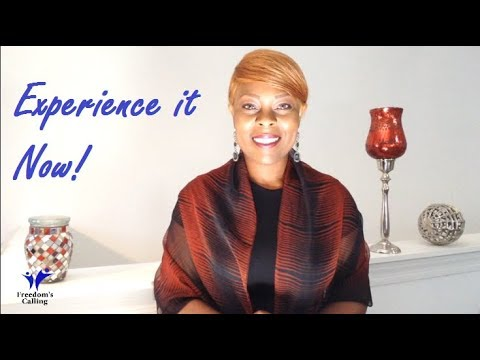 WEDNESDAY WORD - Experience it Now!