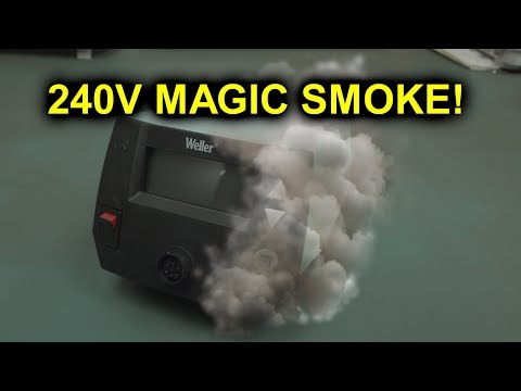 EEVblog #1152 - 240V-120V = Magic Smoke! - UC2DjFE7Xf11URZqWBigcVOQ