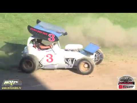 The Howard Kaeding Classic is one of the premier events on the King of the West-NARC Fujitsu Sprint Car Series schedule. Ocean Speedway provided the battleground for some great open wheel duels in this one. The winner took home $5,000. Enjoy! - dirt track racing video image