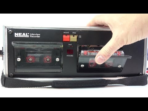 The tape recorder no one wanted to see - UC5I2hjZYiW9gZPVkvzM8_Cw