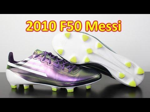 Adidas F50 adiZero Messi Chameleon Purple 2010 - Retro Review - UCUU3lMXc6iDrQw4eZen8COQ