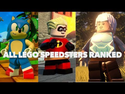 LEGO Marvel Superheroes 2: Speed Glitch and Map Glitch!! | Racer.lt