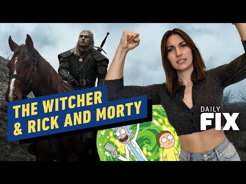 Comic Con Brings The Witcher & Rick and Morty - IGN Daily Fix - UCKy1dAqELo0zrOtPkf0eTMw