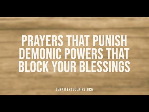 Prayers That Punish Demonic Powers That Block Your Blessings