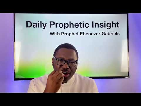 Prophetic Jan 25th, 2021