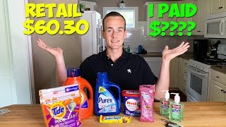 COUPONING: Here's How Walmart PAID Me To Shop!