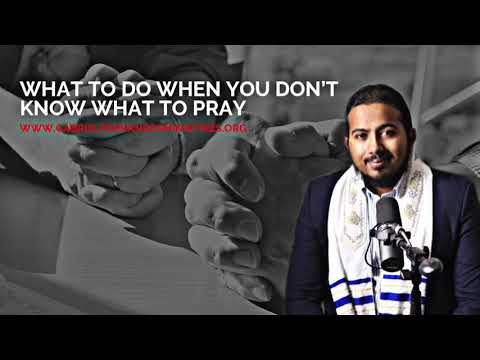 WHAT TO DO WHEN YOU DON'T KNOW WHAT TO PRAY, POWERFUL MESSAGE & PRAYER