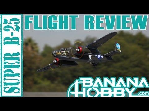 Super B-25 Mitchell LX | Flight Review | Warbird & Military | RCINFORMER - UCUrw_KqIT1ZYAeRXFQLDDyQ
