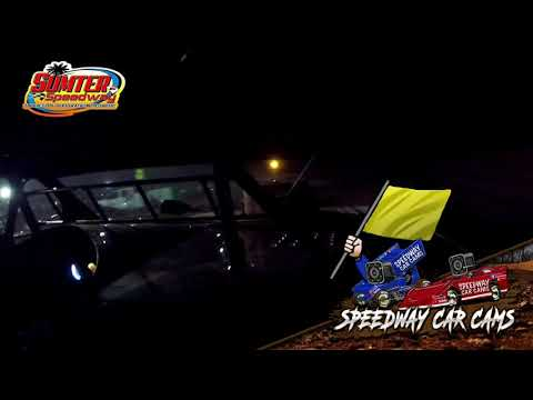 #G2 Kevin Godwin - Steel Block - 9-18-21 Sumter Speedway - In-Car Camera - dirt track racing video image