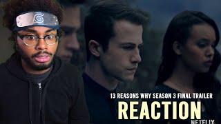 13 Reasons Why Season 3 Final Trailer: Who Killed Bryce Walker? | Netflix Reaction