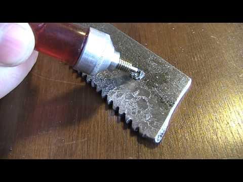 Чем сверлить каленую сталь. Сверлим пилу из быстрореза - UCu8-B3IZia7BnjfWic46R_g