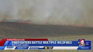 Incoming lightning storm could cause repeat of wildfire clusters in Box Elder County