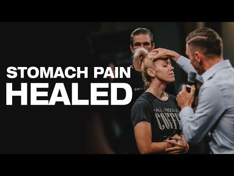 Powerful HEALING Testimony! Stomach Pains HEALED through Prayer!
