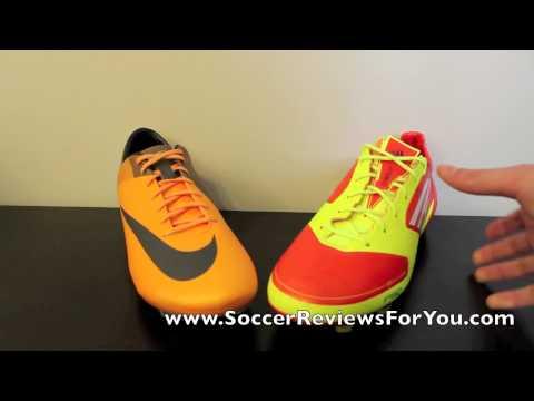Nike Mercurial Vapor VII VS Adidas F50 adizero miCoach - Comparison - UCUU3lMXc6iDrQw4eZen8COQ