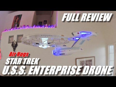 Star Trek U.S.S. Enterprise Drone - Full Review - [Unboxing, Flight Test, Pros & Cons] - UCVQWy-DTLpRqnuA17WZkjRQ