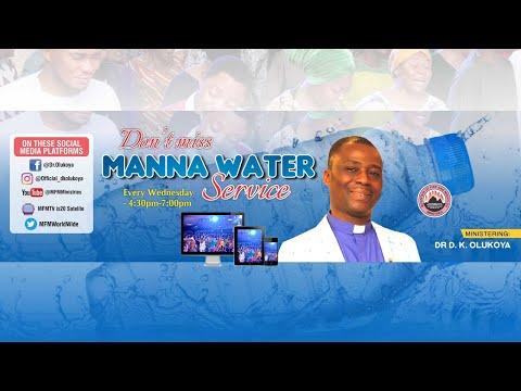 MFM MANNA WATER SERVICE 10th Mar 2021 MINISTERING: DR D. K.OLUKOYA
