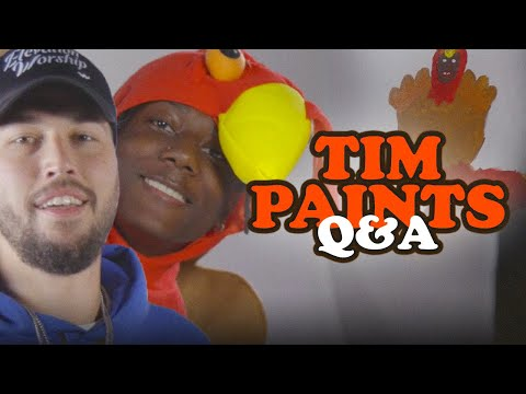 How To Paint A Turkey  Tim Somers Q+A  Elevation YTH