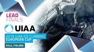 Oulu, Finland l Lead Finals l 2019 UIAA European Cup
