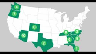 Great Migration: Wealthy Generation X-ers Are Moving to These States