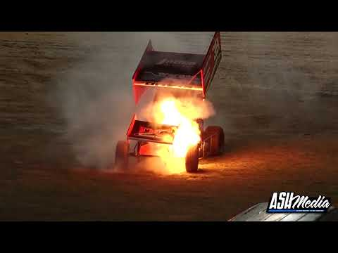 Thrills and Spills | 22nd May 2021: Archerfield Speedway - Sprintcars ECL Series R12 - dirt track racing video image