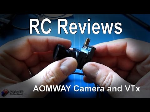 RC Review: Aomway camera and FPV Video Transmitter (from HobbyKing.com) - UCp1vASX-fg959vRc1xowqpw