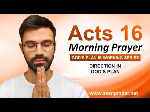 DIRECTION in Gods Plan - Morning Prayer