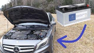 Sostituire batteria Mercedes Classe A