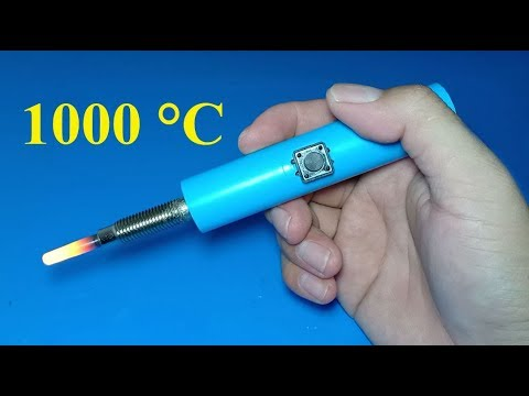 How to make soldering iron using glow plug - UC8MFNkCuOrpcCxwe1AgPkZQ