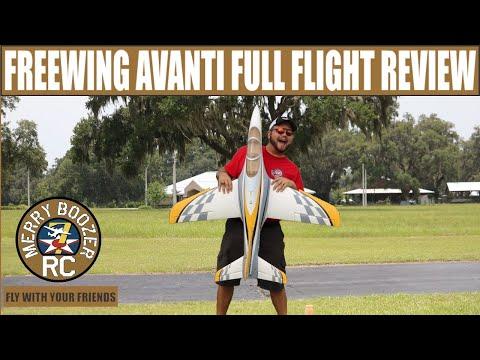 Freewing Avanti S 80MM EDF Ultimate Sport Jet Full Flight and Review - UCyHXMVlcebJM9xXfaUONaBQ