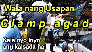 Wheel Clamping Operation! Makati Roadside Assistance..Makati City.
