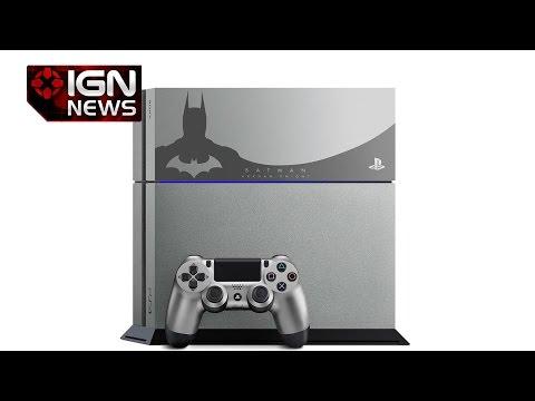 Limited Edition Arkham Knight PS4 Console Revealed - IGN News - UCKy1dAqELo0zrOtPkf0eTMw