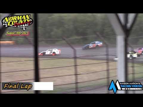 Norman County Raceway IMCA Sport Mod A-Main (8/19/21) - dirt track racing video image