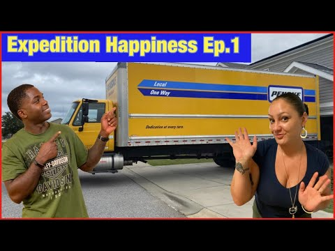 Expedition Happiness: The Moving Truck Arrived | Ep.1 | PCS to JBLM Washington