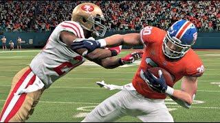 Madden 20 Gameplay - Super Bowl XXIV Rematch Denver Broncos vs San Francisco 49ers – Madden NFL 20