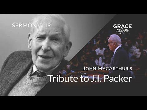 John MacArthur's Tribute to J.I. Packer