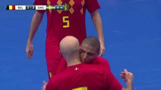 FIFA Futsal World Cup / Lithuania 2020 - Sweden 5x8 Belgium