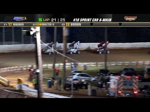Selinsgrove Speedway | Summer Championship 410 Sprint Car Highlights | 7/24/21 - dirt track racing video image