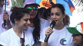 DIA MIRZA CELEBRATE INDEPENDENCE DAY WITH BEACH CLEAN UP DRIVE