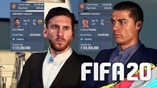 SIGNING RONALDO & MESSI IN FIFA 20 CAREER MODE!!!