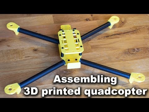 3D printing and assembling one of my quadcopter frames - UC2fMBI9YtNyqzqf0gC5mn5w