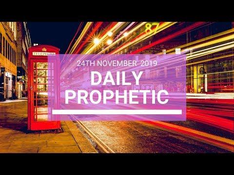 Daily Prophetic 24 November Word 4