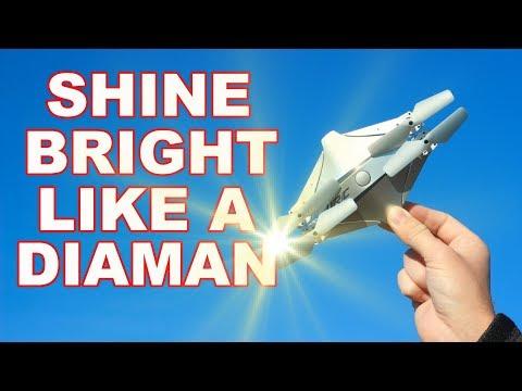 Folding Arm Selfie Drone - JJRC H44WH Diaman - TheRcSaylors - UCSXK6dmhFusgBb1jDrj7Q-w